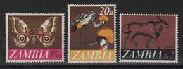 Zambie - N°45 + 46 + 50 - Faune - Cote 16.75€ - * Neufs Avec Trace De Charniere - Zambie (1965-...)