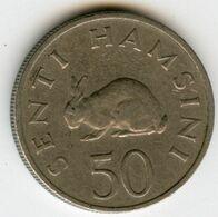 Tanzanie Tanzania 50 Senti 1966 KM 3 - Tanzania