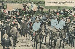 Anniversaire Bataille Mars La Tour 16/8/1870 Officiers Français Et Gendarmes Allemands Frontière . - Manifestazioni