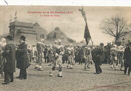 Cavalcade De La Mi Careme à Nancy 1922 . La Danse Des Gilles , Mons ? Frameries ? Lancer D' Oranges - Manifestazioni