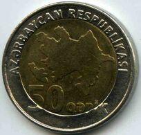 Azerbaïdjan 50 Qapik ( 2006 ) KM 44 - Azerbaïjan