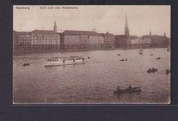 Ansichtskarte Hamburg Alsterdamm Schiffe Nach Hüsum  - Deutschland