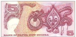 PAPUA NEW GUINEA P. 22a 5 K 2002 UNC - Papoea-Nieuw-Guinea