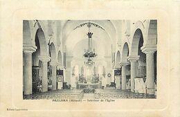 - Herault -ref-A753- Paulhan - Interieur De L Eglise - Pourtour Cadre - - Paulhan