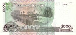 Cambodia P.55c 5000 Riels 2004  Unc - Cambogia