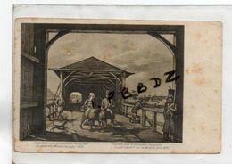 CPA  - 57 - THIONVILLE - Le Pont Couvert Sur La Moselle - THIONVILLE Sous La Domination Française - Vers 1820 - Thionville