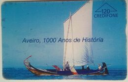 Portugal 120 Units Aveiro 1000 Anios De Historia - Portugal