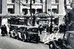 CPSM 75 PARIS 10e Station De Métro GARE DU NORD édicule Guimard La Gare Du Nord 1954 Ed. De LUXE ESTEL N° 279 - District 10