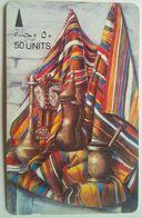 Bahrain 50 Units 20BAHA Painting, Still Life - Bahrein