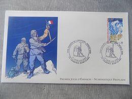 FDC France 2000 : Cinquantenaire De La Conquète De L'Annapurna - FDC