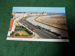 VINTAGE UK WALES: GLAMORGAN Porthcawl Esplanade Colour Cars Dennis - Glamorgan