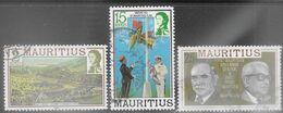 Mauritius  1978  Sc#458, 462-3  2Rupees, 15R, 25R  Used  2016 Scott Value $16.55 - Mauritius (1968-...)