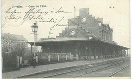 NIVELLES : Gare De L'Est - Cachet De La Poste 1905 - Nivelles