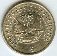 Haïti 5 Centimes 1975 KM 119 - Haïti