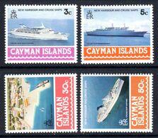 CAYMAN ISLANDS - 1978 HARBOUR & CRUISE SHIPS SET (4V) FINE MNH ** SG 441-444 - Cayman Islands