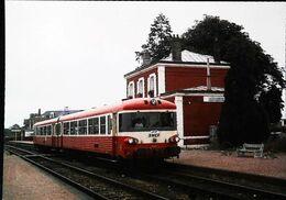 TRAIN Autorail Type X -  Gare De FORGES LES EAUX    (76 Normandie)  Ligne Gisors Dieppe - Forges Les Eaux