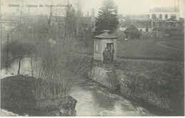 AISEAU : Château Des Forges D'Aiseau - Cachet De La Poste 1906 - Aiseau-Presles