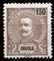 !■■■■■ds■■ Angola 1903 AF#85 * King Carlos Mouchon 130 Réis (x3558) - Angola