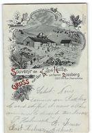 CPA 68 Gruss Aus Von Der Koibs Hutte Untern Rossberg - France