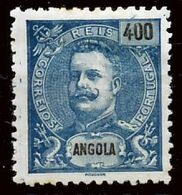 !■■■■■ds■■ Angola 1903 AF#86 (*) King Carlos Mouchon 400 Réis (x3559) - Angola