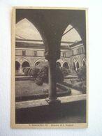 LOMBARDIA : SAN BENEDETTO PO (MN) CHIOSTRO DI S. SIMEONE VIAGGIATA  ANNO 1947 - Mantova