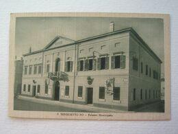 LOMBARDIA : SAN BENEDETTO PO (MN) PALAZZO MUNICIPALE VIAGGIATA  ANNO 1932  BELLA - Mantova
