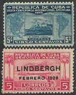 Cuba  1928  Sc#286 MH, C2 MNG  2016 Scott Value $8 - Cuba