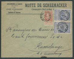 Brief Verstuurd Op 2.3.1897 - 1893-1900 Thin Beard