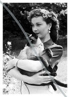 Postcard   REPRODUCTION   Vivien Leigh   Cinema   Actors - Actores