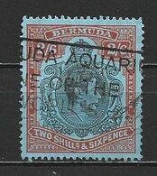 1938 BERMUDA 2 SH. 6 P. DEFINITIVE MICHEL: 112 USED - Bermuda