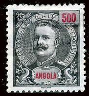 !■■■■■ds■■ Angola 1898 AF#51 * King Carlos Mouchon 500 Réis (x6661) - Angola