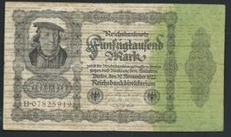 Allemagne 50000 Mark Du 19/11/1922 Dans L 'état     B.07825919 Laura 5407 - [ 3] 1918-1933: Weimarrepubliek