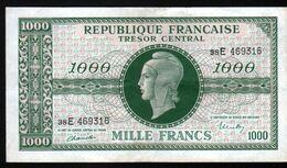 """France - 1000 Francs """"Marianne"""", Série E - 1943-1945 Marianne"""