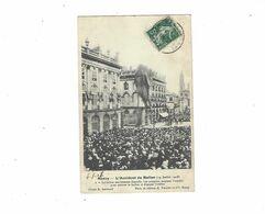 NANCY  L ACCIDENT DU BALLON  14 JUILLET 1908  LE BALLON ENTIEREMENT DEGONFLE ****    A  SAISIR   ****** - Nancy
