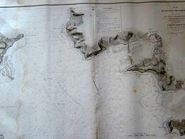 Plan Des Environs De La Rochelle Levée En 1822 Et 1824 - Nautical Charts