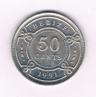 50  CENTS 1991  BELIZE /7262/ - Belize