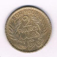 2 FRANCS 1945 TUNESIE /7270/ - Tunisia