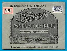 Pochette (vide) PHOTO Photographie Papier Auto Vireur SELTONA Pour Les Pays Tropicaux * Wellington & Ward Ltd London - Zubehör & Material
