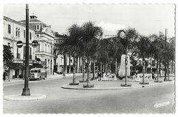 Cpsm: ALGERIE - MAISON CARREE (El-Harrach) Avenue Nicolas Zévaco (Citroen HY, Monument Aux Morts) Ed. Jomone  N° 52 - Autres Villes