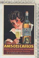 PUBBLICITARI ANIS DEL CARLOS  RIPRODUZIONE DA ORIGINALE - Publicidad