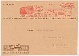 Meter Cover Front Netherlands 1940 Leica - Photo Camera - Odin - Nijmegen - Fotografía