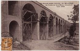 59 - B22126CPA - LE CATEAU - Le Viaduc De Saint Benin Reconstruit Aout 1919 - Bon état - NORD - Le Cateau