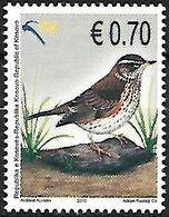 Kosovo - MNH ** 2010 : Redwing  -  Turdus Iliacus - Pájaros Cantores (Passeri)