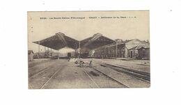 GRAY  Interieur De  LA GARE     TRAIN  ****   A  SAISIR ***** - Gray