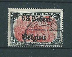 OC 25 SURCHARGE TYPE 1 OBLITERE - WW I
