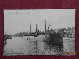 CPA - Lorient - Navire Sortant Du Bassin à Flot - Lorient