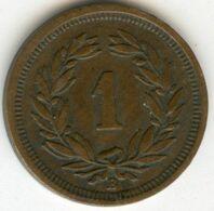 Suisse Switzerland 1 Rappen 1918 B KM 3.2 - Suisse