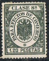 Sello Efectos De Comercio, Fiscal Clase 8, 1,20 Pts Estado Español ** - Fiscales