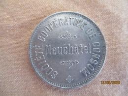 Suisse: Société Coopérative De Consommation Neuchâtel - 1 Litre Lait - Professionals / Firms