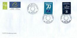 France 2020 - Conseil De L'Europe / Europarat / Council Of Europe - Enveloppe Officielle FDC. TTB - Servizio